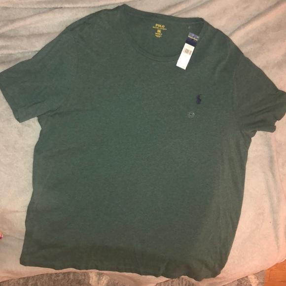 da10e6f0 Ralph Lauren Men's Olive Green T-shirt NWT